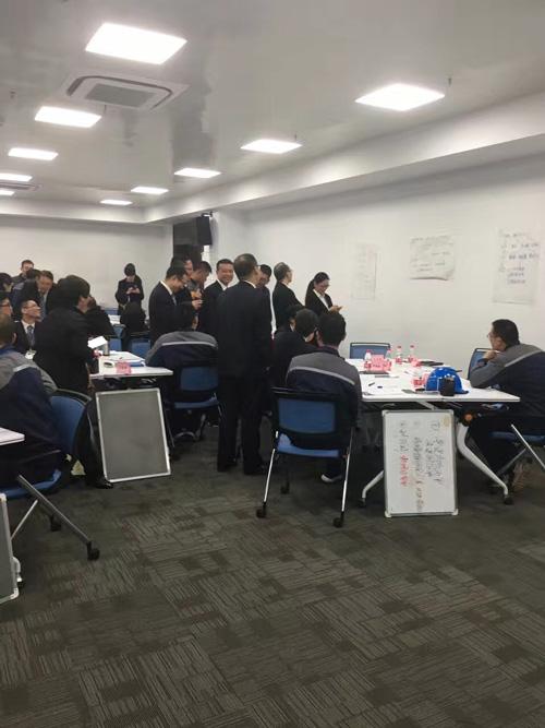 行隆咨询为华峰集团绩效管理辅导现场