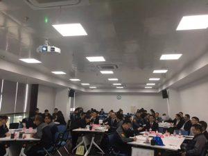 行隆咨询为华峰集团绩效培训体系现场