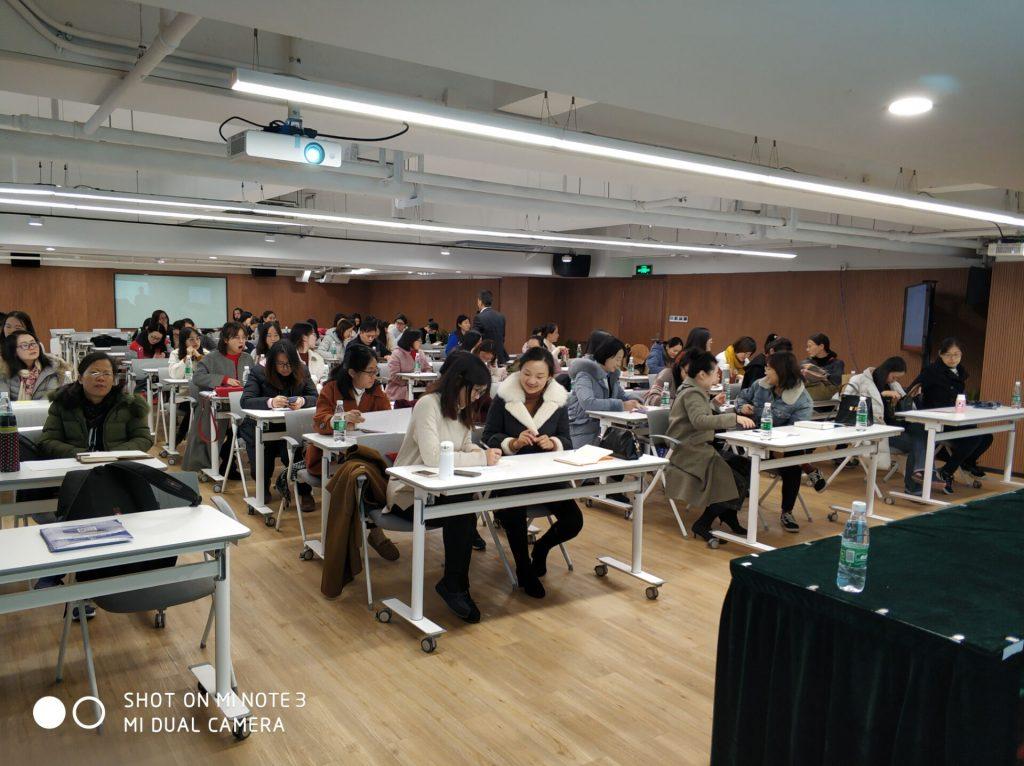 行隆咨询为张江众多企业绩效管理培训现场
