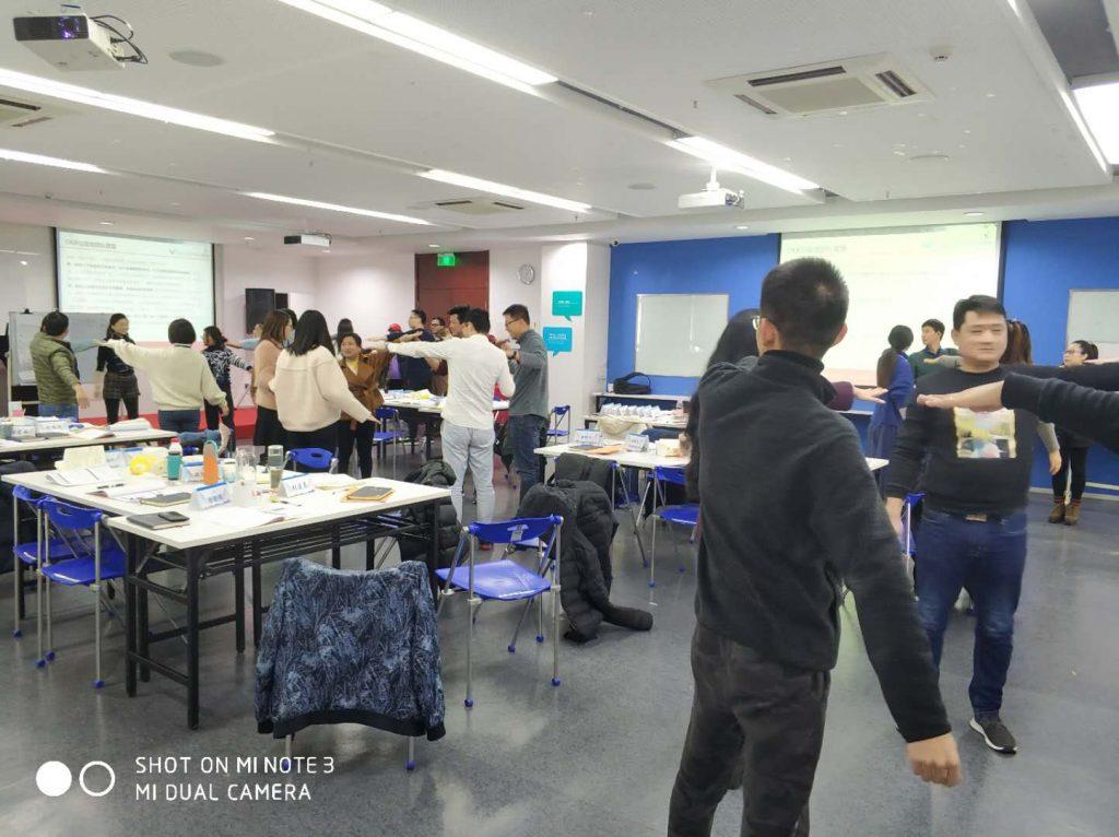 行隆咨询为快鱼服饰绩效管理培训现场