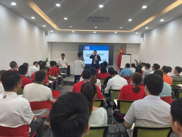 行隆咨询为上海梁玉玺实业集团营销系统绩效及薪酬激励咨询现场