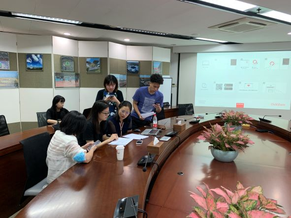 行隆咨询为上海久事体育赛事OKR绩效管理咨询现场